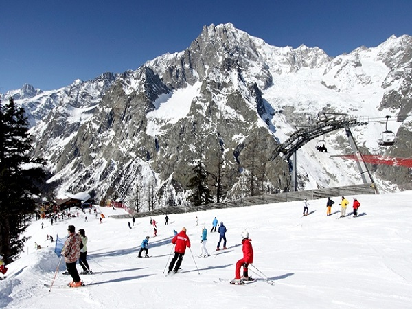 Courmayeur slopes
